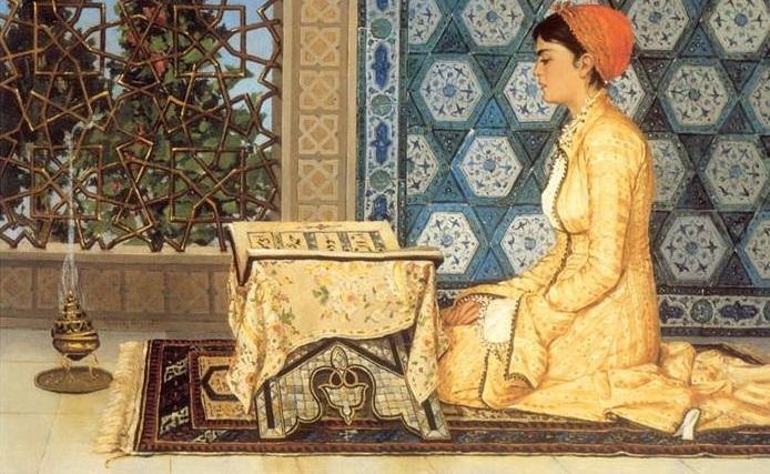 Lubna de Córdoba, Pustakawati Medina Azahra sekaligus Sekretaris Khalifah