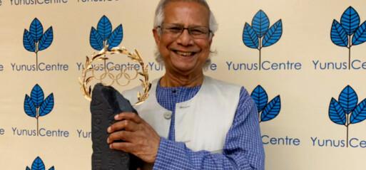 Peraih Nobel Perdamaian Muhammad Yunus Terima Penghargaan Olimpiade Tokyo